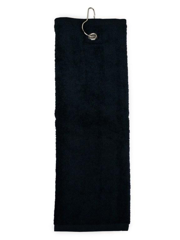 Golfhanddoek Zwart