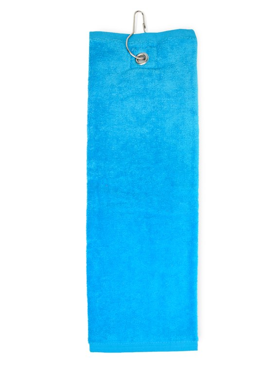 Golfhanddoek Turquoise