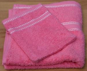 Handdoek Exellent met washandje