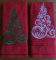Kersthanddoek motief 3