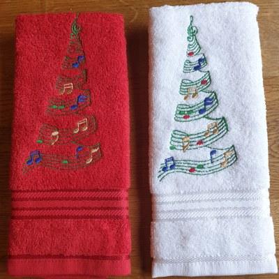 Kerst handdoekje